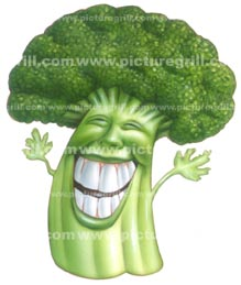 designs of brocoli vegetables illustration