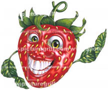 designer of strawberry image